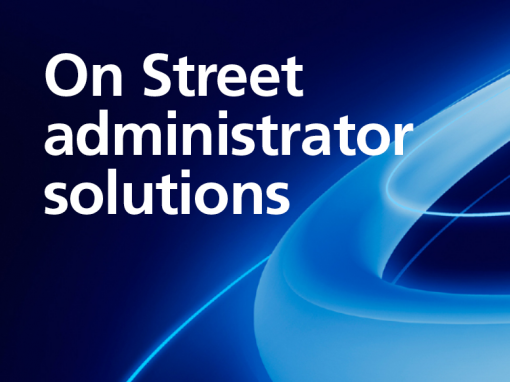 On Street administrator solutions