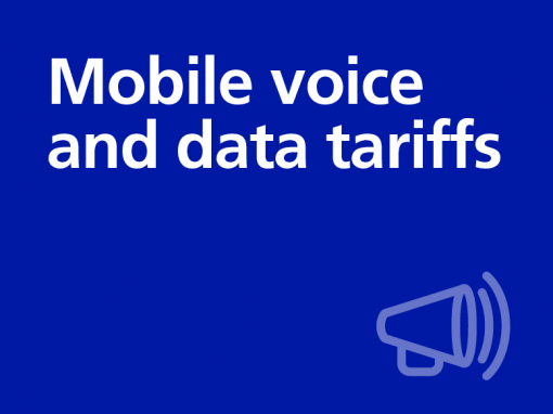 Mobile voice and data tariffs (Copy)