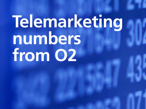 Telemarketing Numbers from O2