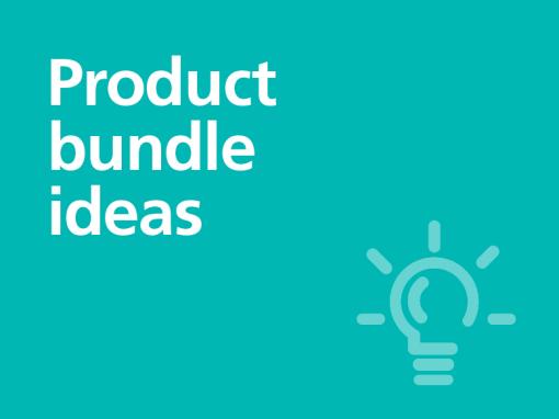 Product bundle ideas