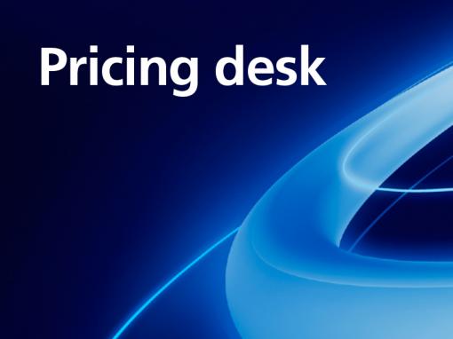 Pricing desk