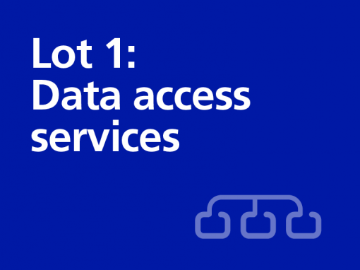 Lot 1: Data access services