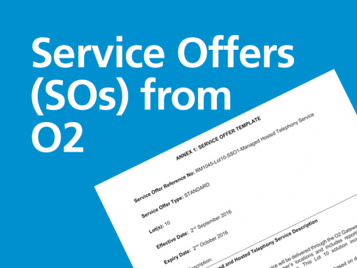 Service Offers from O2