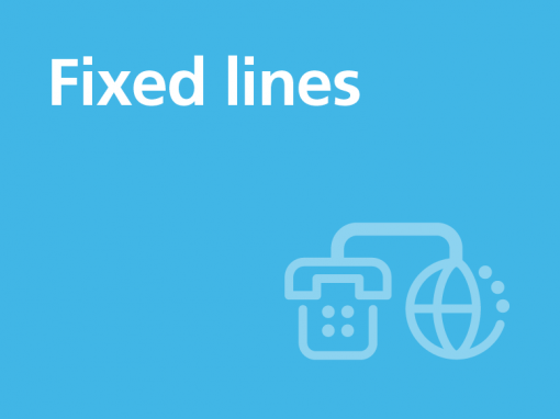 Fixed lines
